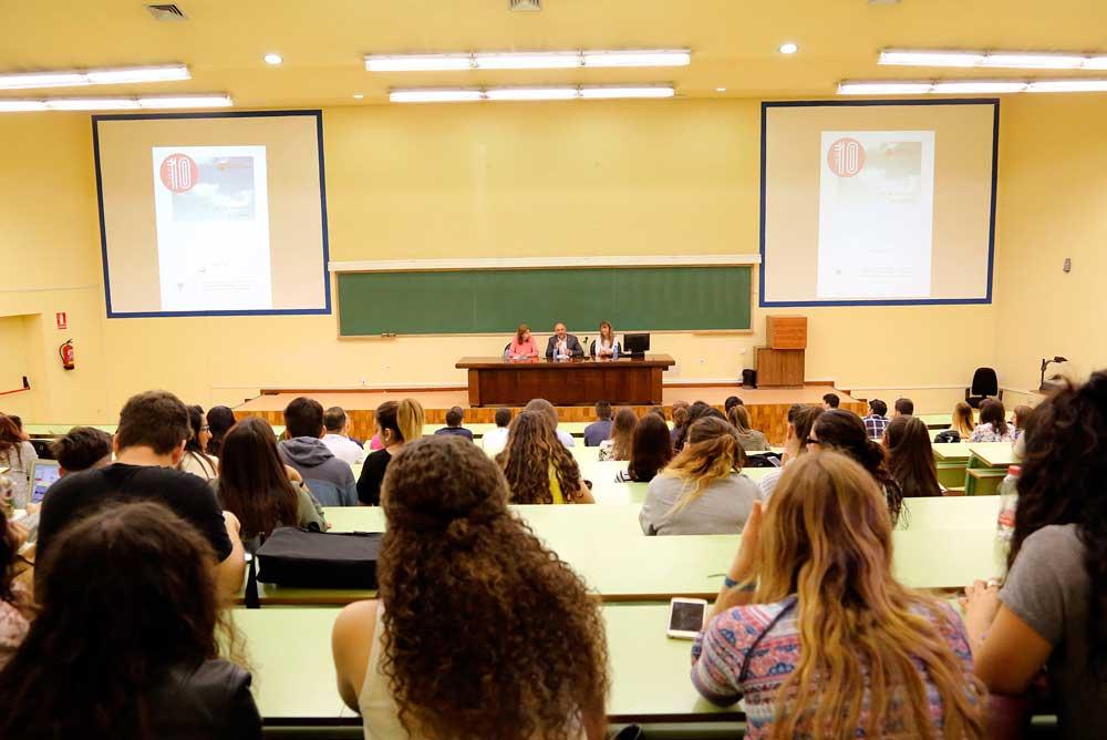 Jornada de orientación para alumnos de Económicas de la UMA.