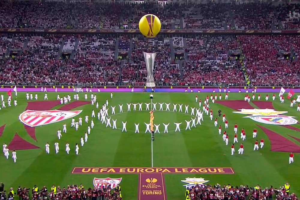 Imagen de la final de la Europa League de 2013.