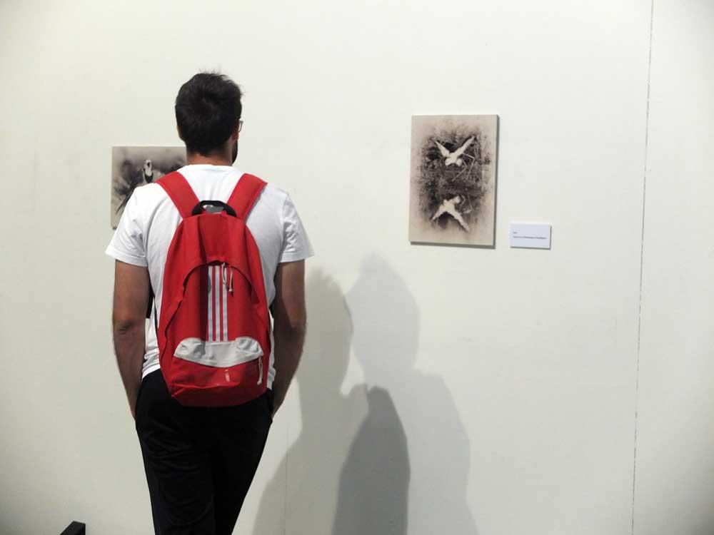 Exposición Alas de Papel, del fotógrafo Enrique García Muñoz.