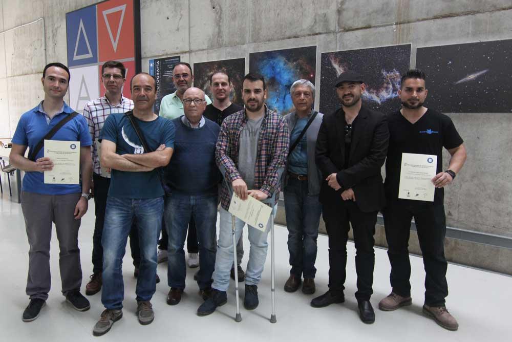 Inauguración de la exposición de astrofotografía en la UAL.