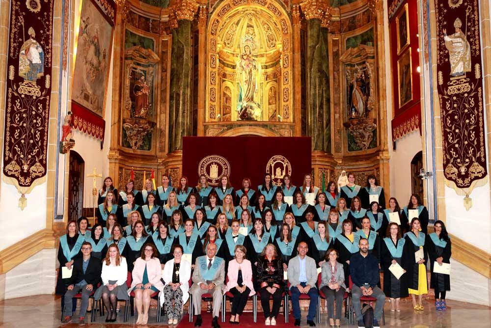 Acto de graduación de la V promoción de Educación Infantil y Primaria de la UCAM.