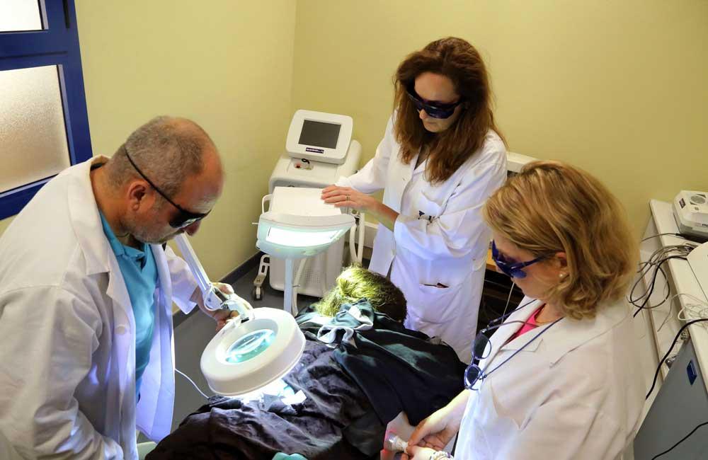 Laboratorio de fotobiología dermatológica de la Universidad malagueña.