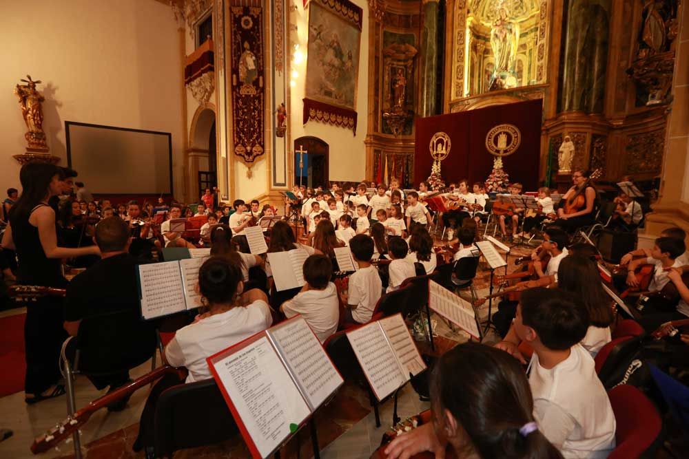 Actuación de fin de curso 2015-2016 de la Red de Orquestas Escolares de la UCAM.
