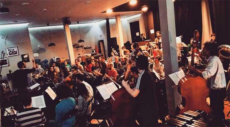 Orquesta del CAMM.