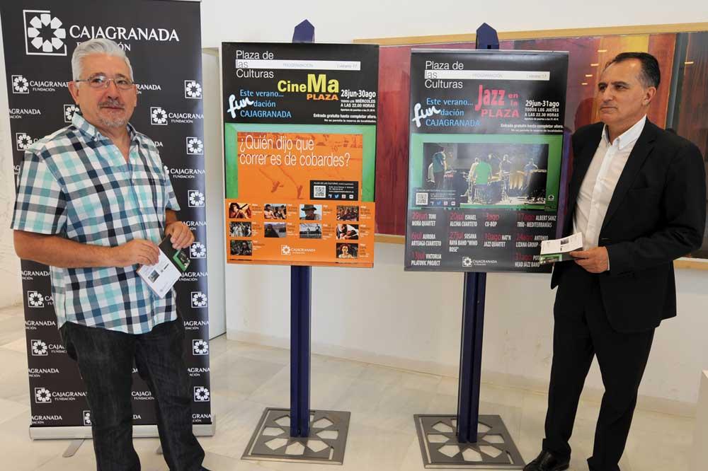 Presentación de la programación de verano de la Fundación CajaGranada.