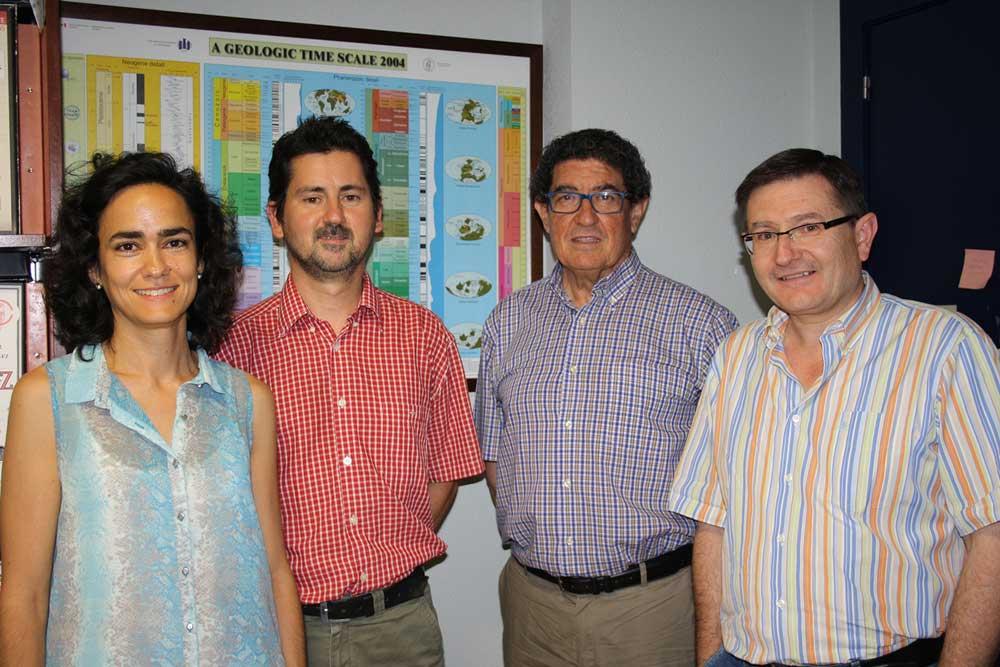 Investigadores de la UJA implicados en este proyecto.