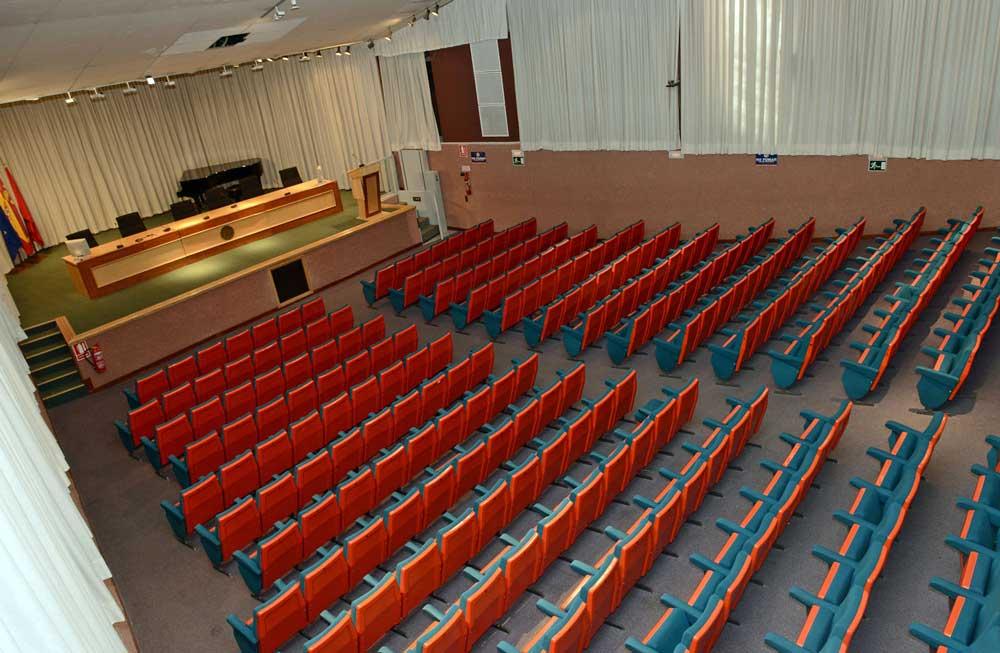 Paraninfo de la Universidad de Murcia.