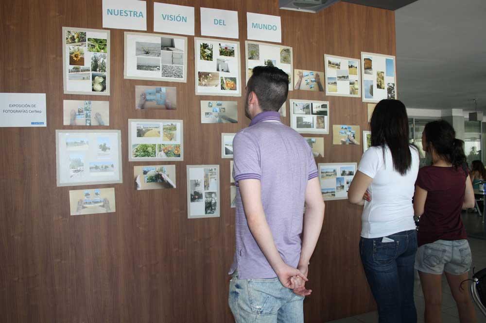 Exposición del taller de arteterapia en la UAL.