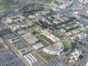 Vista aérea del campus de la Universidad de Alicante.
