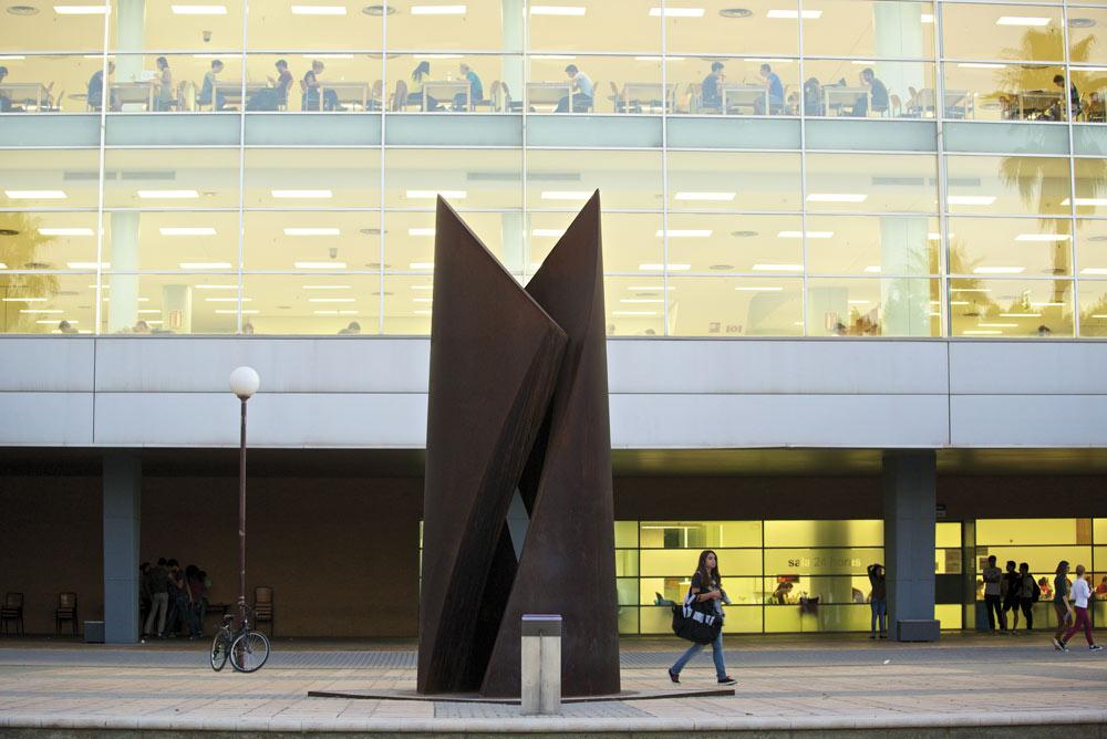 El campus de la Universidad de Alicante es un espacio innovador.