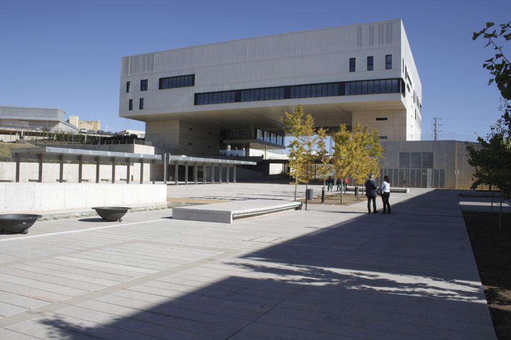 Campus de Linares de la Universidad de Jaén.
