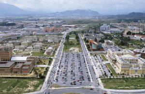 Campus de la Universidad de Málaga.