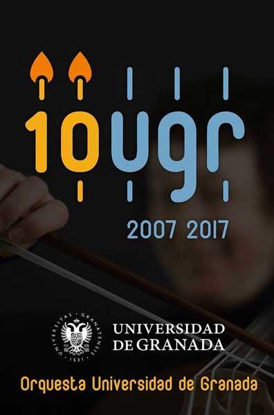 Cartel del concierto del décimo aniversario.