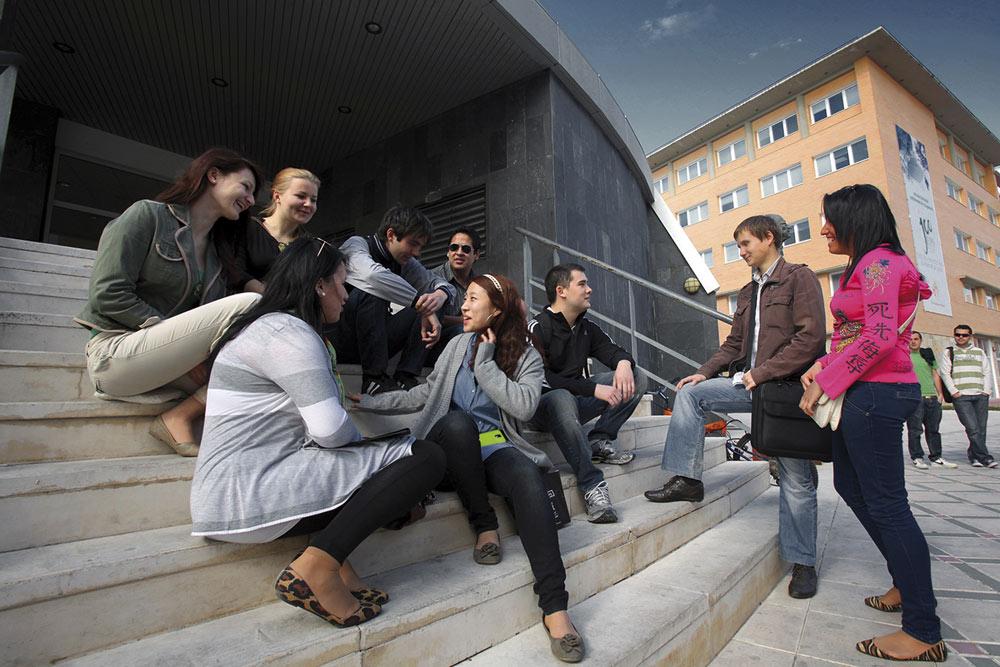 El campus de la Universidad de Jaén, destino para estudiantes del todo el mundo.
