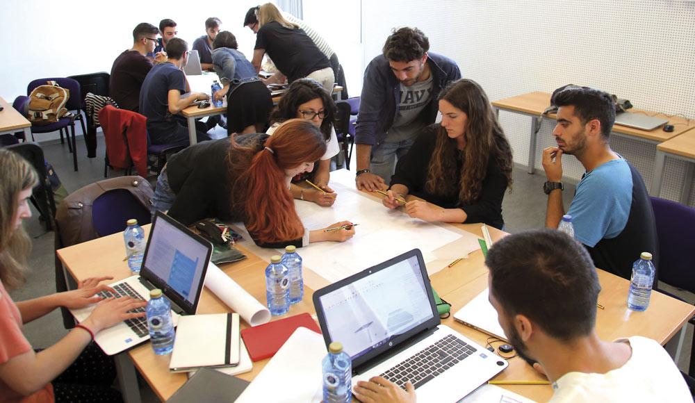 Estudiantes, el verdadero valor de la Universidad de Málaga.