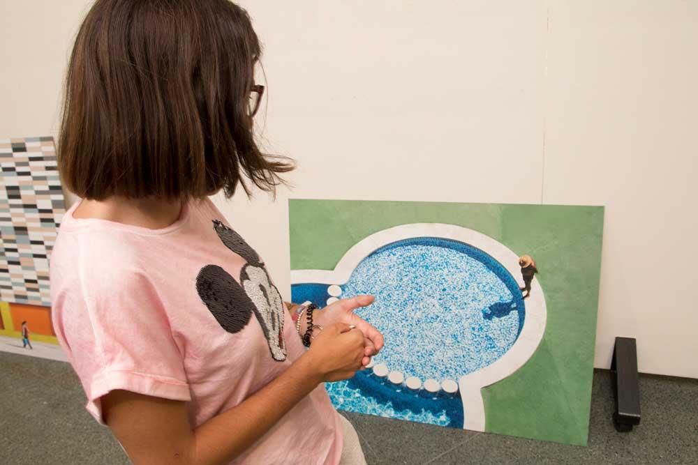 La UJA acoge la exposición fotográfica de Santiago Bañón.