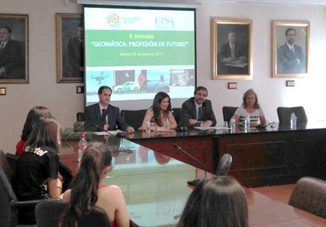 Jornada sobre Geomática realizada en Jaén.