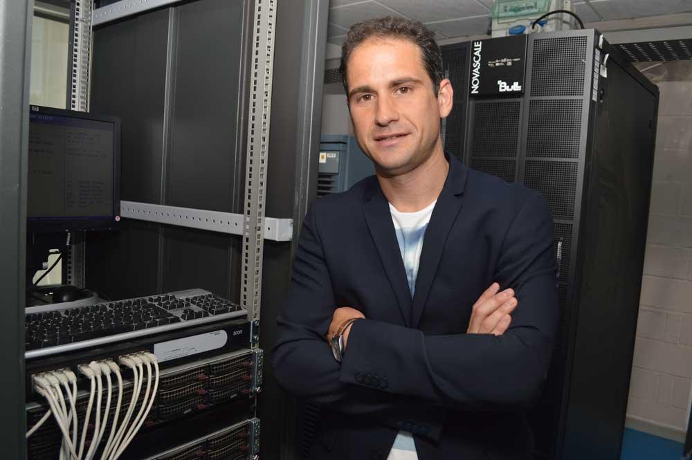 El profesor e investigador de la Universidad Politécnica de Cartagena (UPCT), Javier Prior.