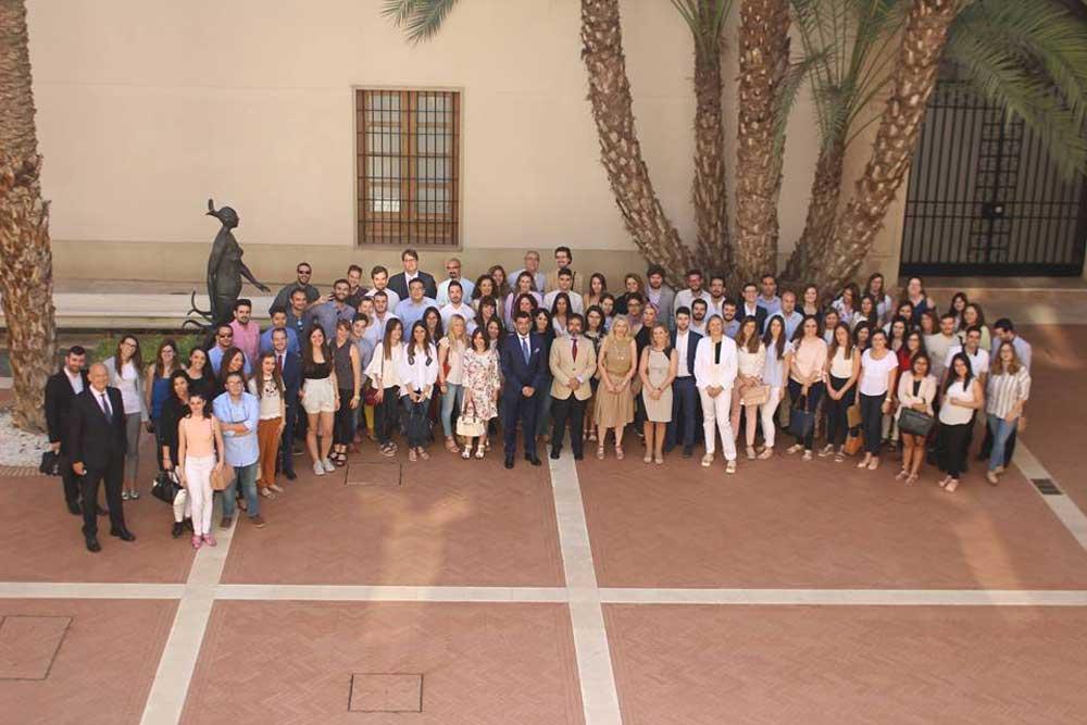 Alumnos del Máster en Abogacía de la Escuela de Práctica Jurídica, en una actividad reciente.