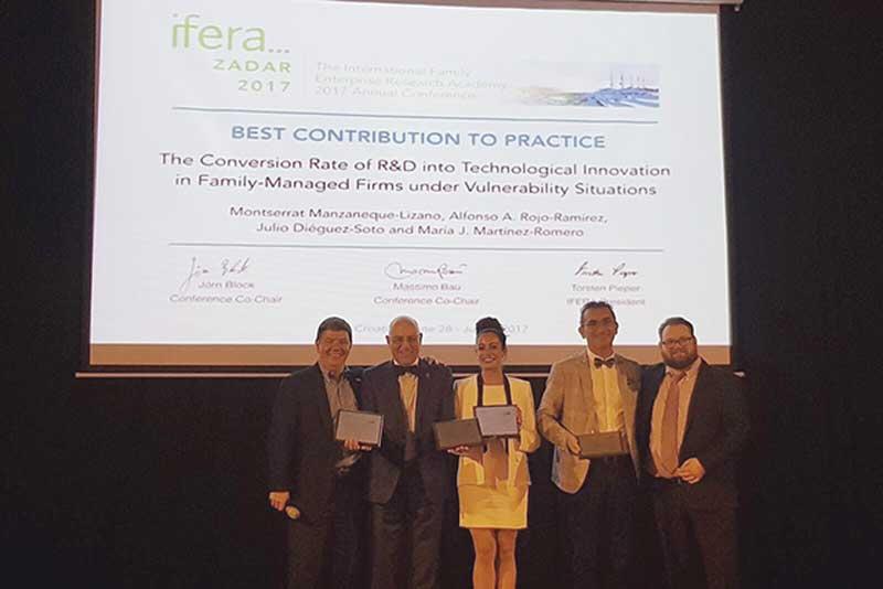 El galardón fue entregado en Zadar (Croacia), durante la celebración del encuentro internacional.