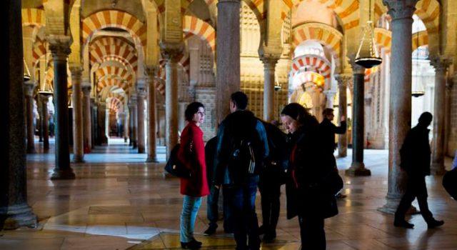 La Mezquita, patrimonio arquitectónico sometido a intervención.