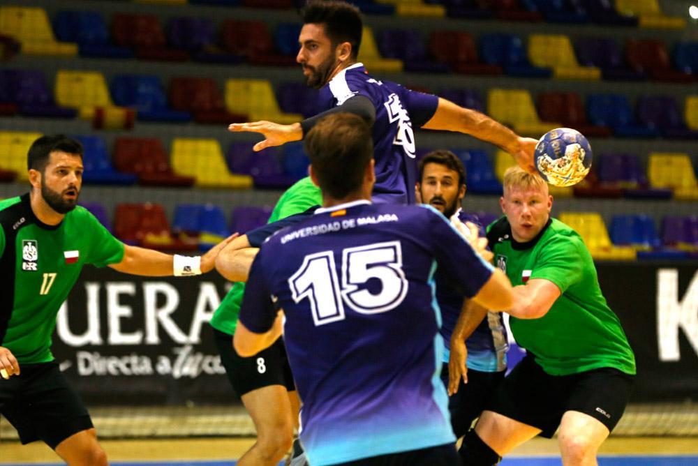 La UMA se ha impuesto en el partido inaugural del europeo de balonmano.
