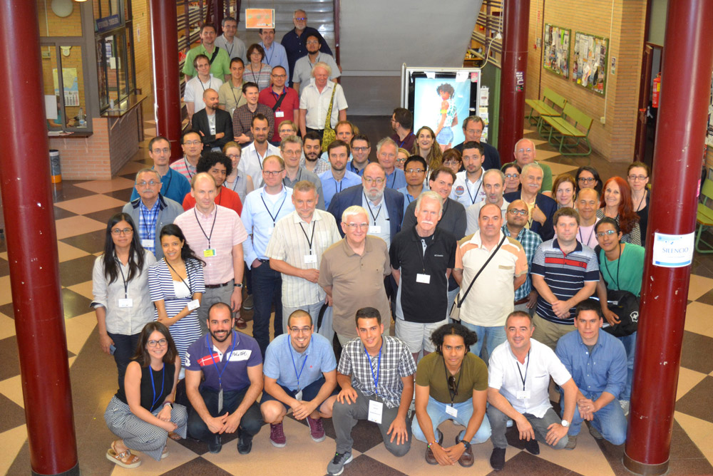 Participantes en el congreso matemático de la UAL.