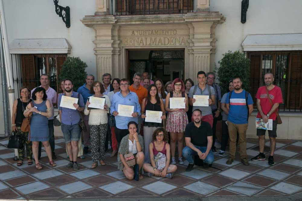Clausura de los cursos de verano en Benalmádena.