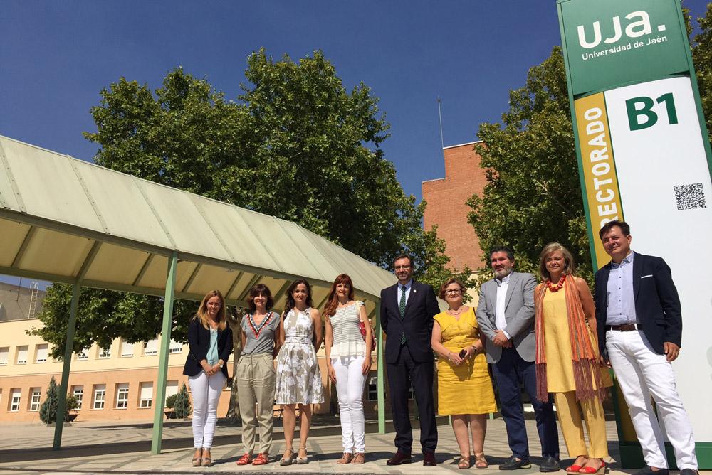 Equipo de Gobierno de la Universidad de Jaén.