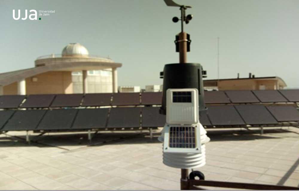 Estación meteorológica de la Universidad de Jaén.