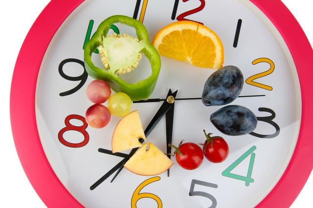 horario comida alimentacion