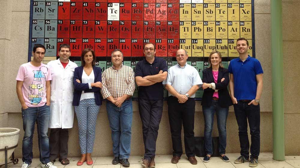 Grupo Ingeniería Química y Ambiental de la Universidad de Jaén, responsable del estudio.