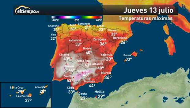 La Ola De Calor Dejara Temperaturas De Record En Andalucia