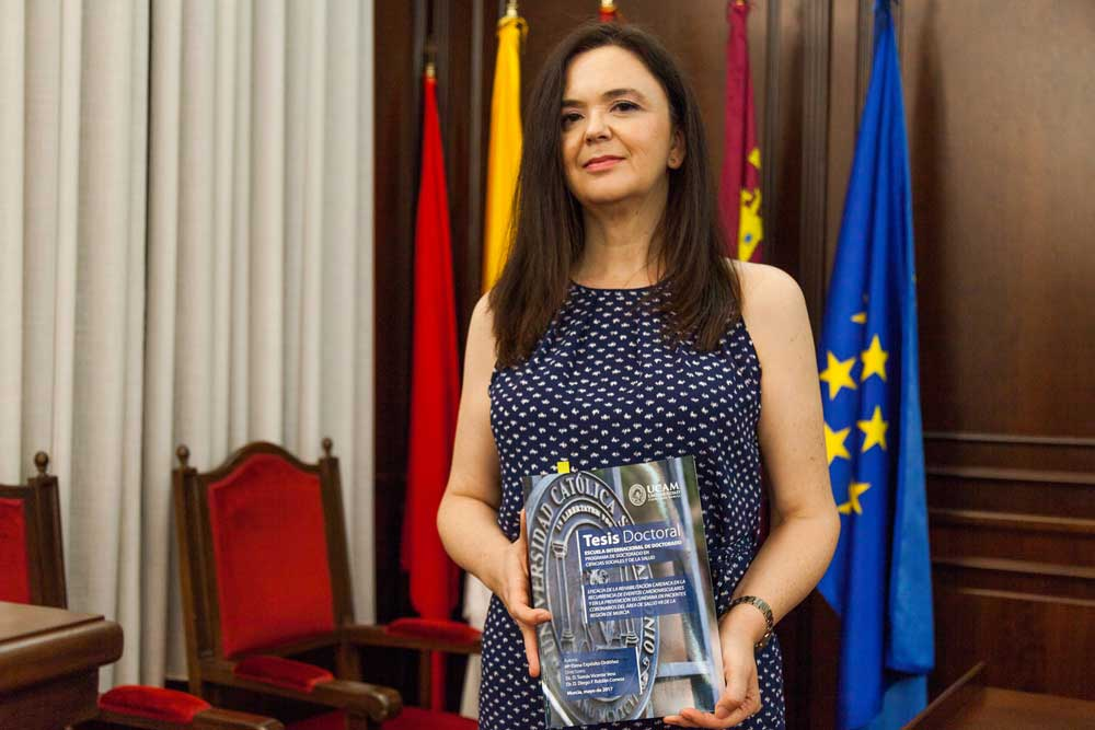 La investigadora María Elena Expósito.