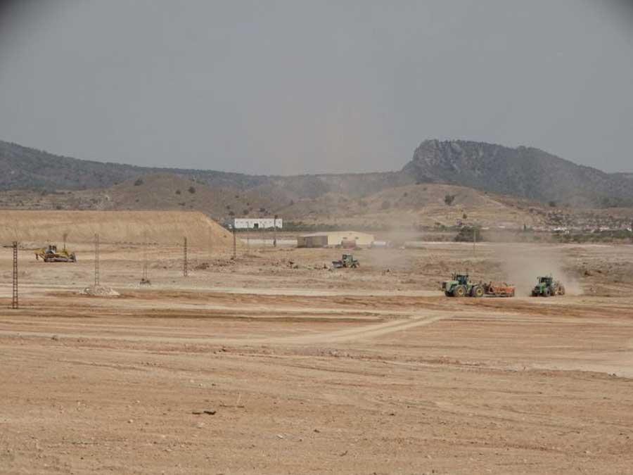 Roturaciones que se realizan actualmente en La Murta, Corvera, Murcia. (P.García/ANSE)