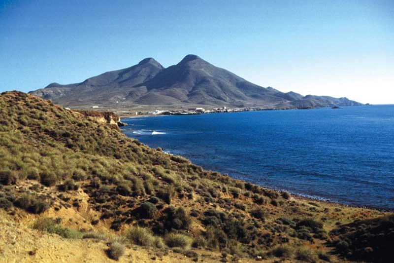 Cabo de Gata, en Almería.