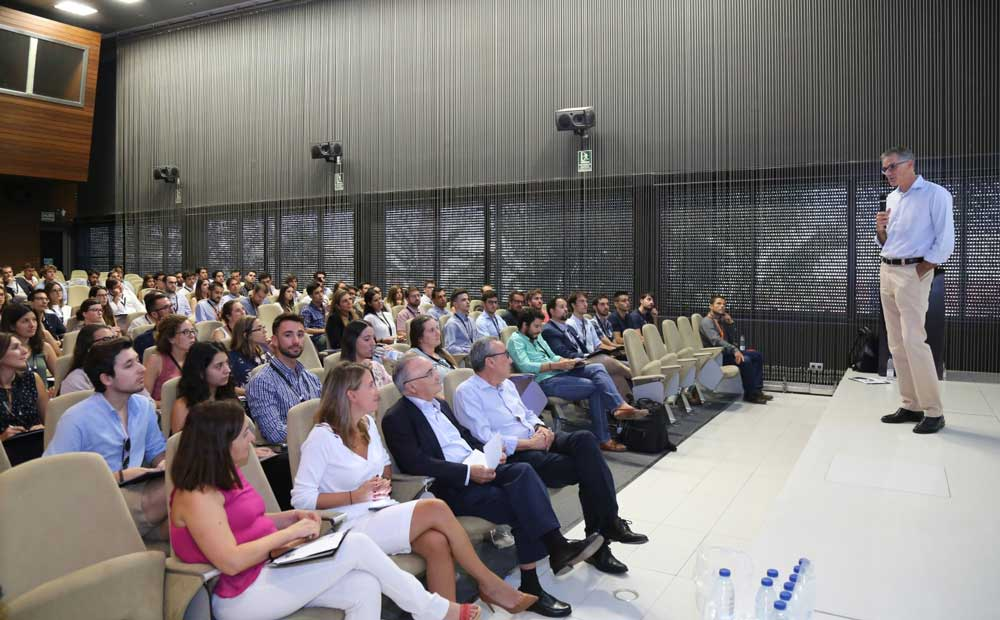 Juan Martínez Barea en el seminario sobre Líderes del Futuro.