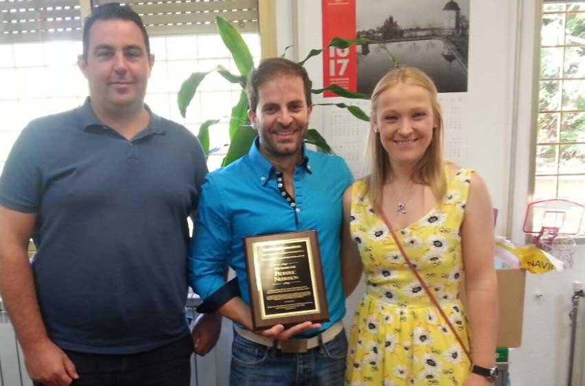 Profesores premiados en la UGR.