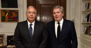 Encuientro entre Méndez de Lugo y Roberto Fernández