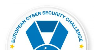 Logo de la European Cyber Security Challenge.