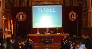 El representante de Israel, en la UCAM.