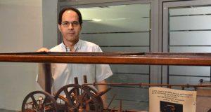 Juan Francisco López, en la Escuela de Industriales de la UPCT
