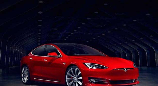 Tesla Model S, uno de los modelos de más éxito de la marca de coches eléctricos.