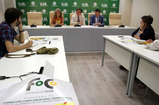 Presentación del programa FoCo en la Universidad de Jaén.