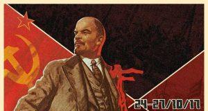Cartel de la película sobre la Revolución Rusa.