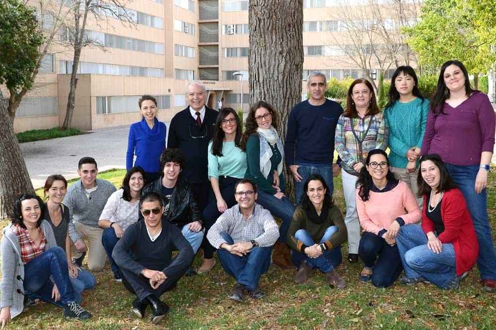 Equipo de investigación de Víctor Mulero de la Universidad de Murcia.