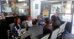 Programa de Abecedario Solidario en la radio de la UJA.