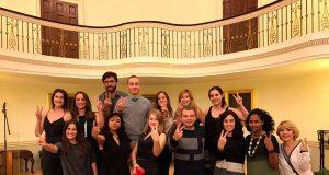 Alumnos del doctorado REP-BIOTECH de la UMU.