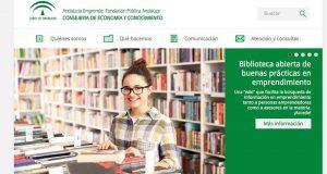 Puede visitar la Biblioteca en www.andaluciaemprende.es