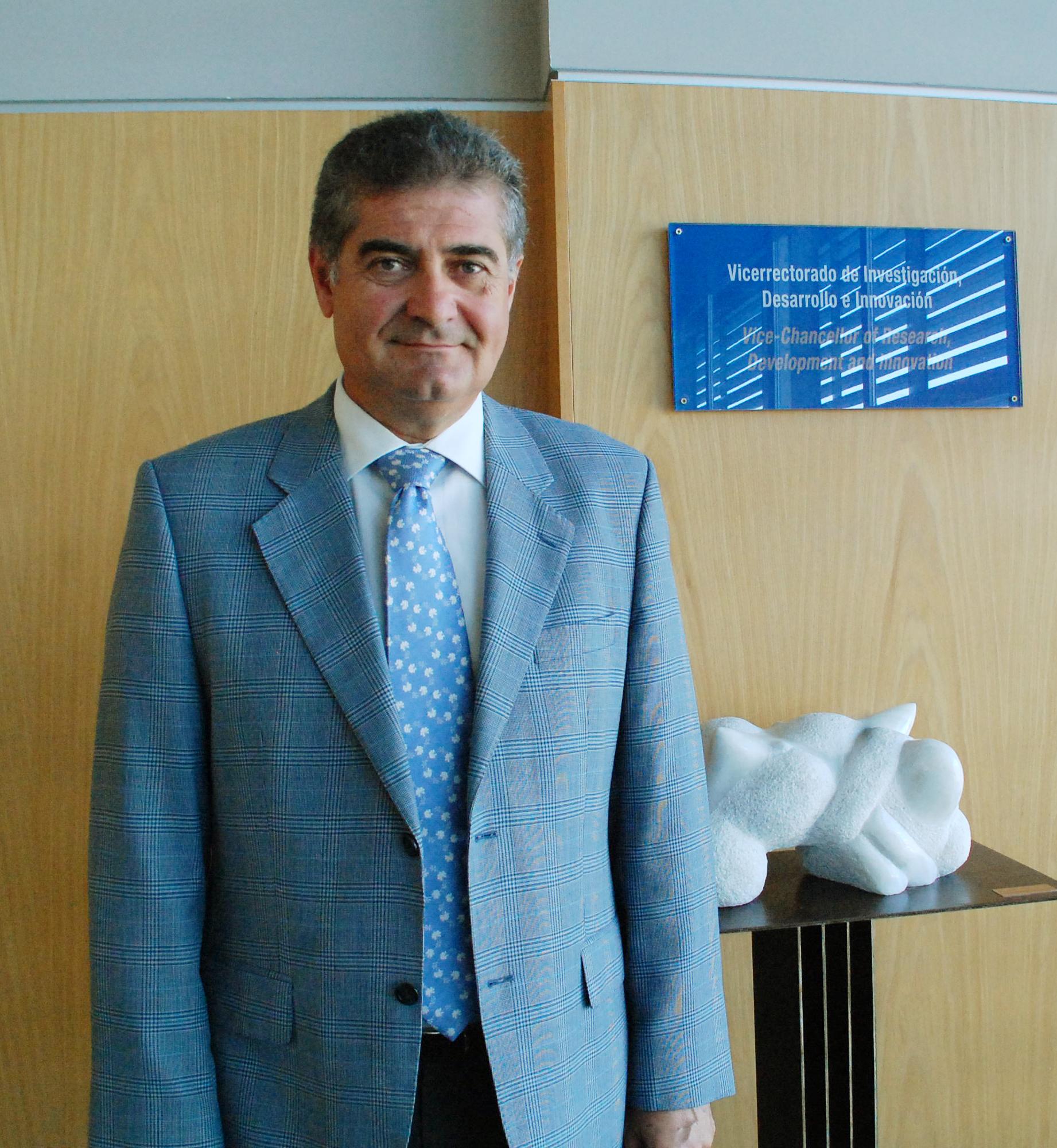 Antonio Posadas, vicerrector de Investigación de la UAL.